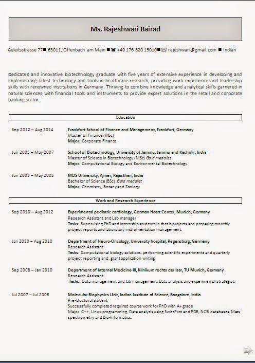 Cv Resume Download