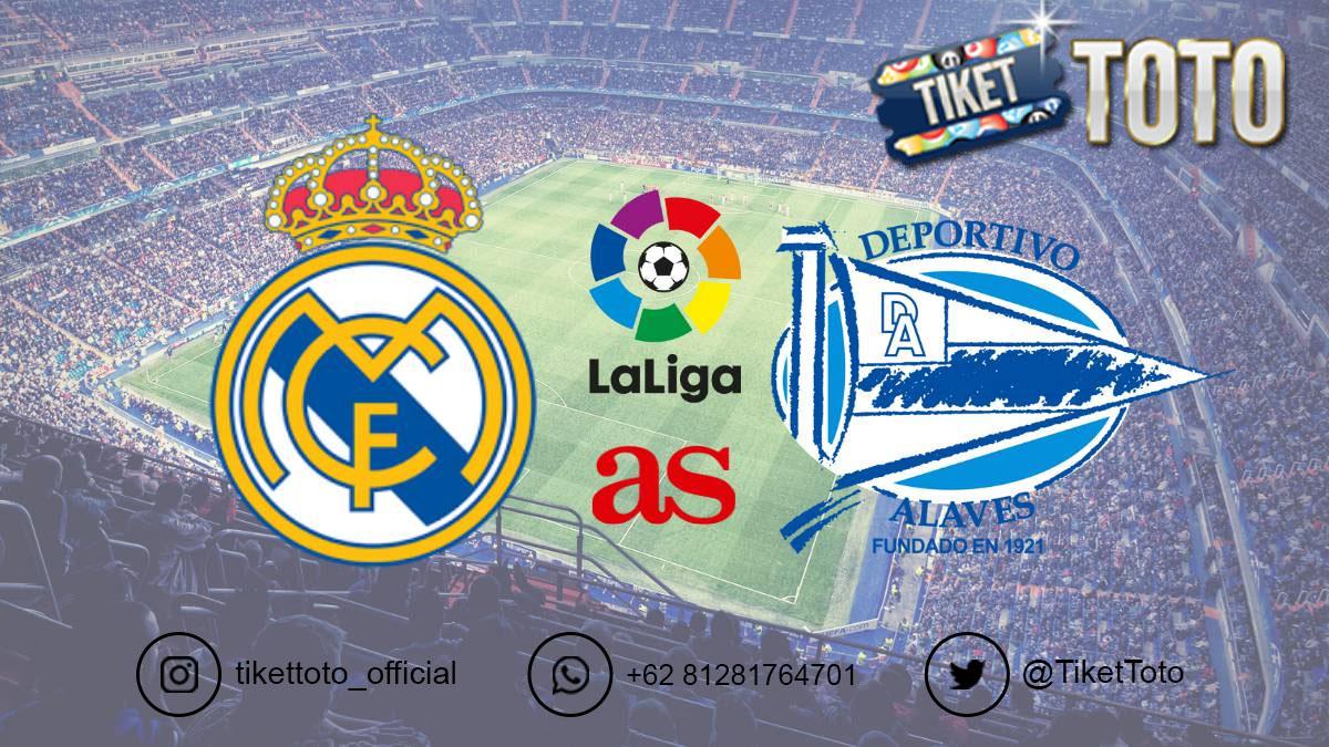 Kembali Dapat Penalti, Real Madrid Tundukkan Alaves 2-0