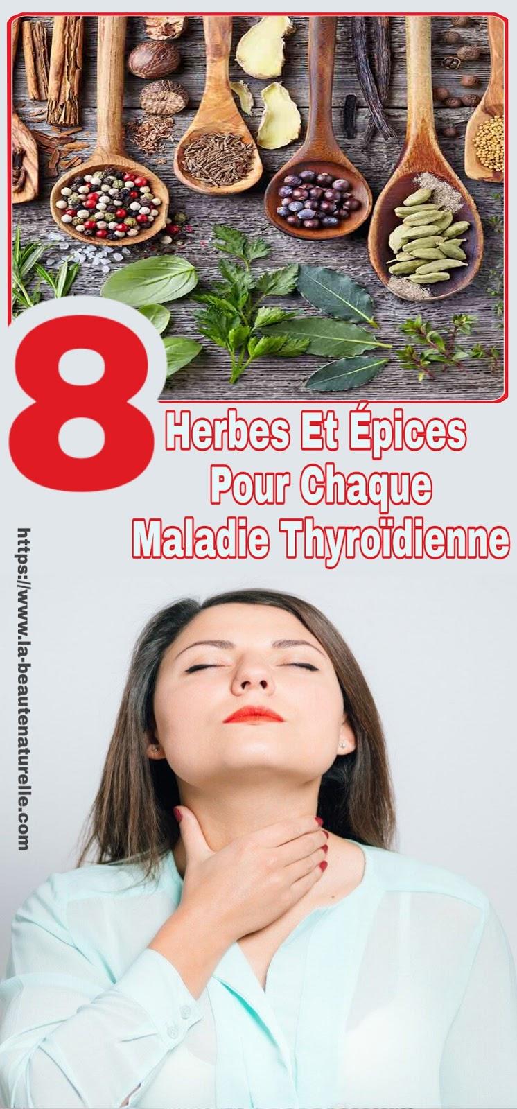 8 Herbes Et Épices Pour Chaque Maladie Thyroïdienne