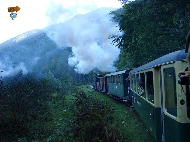 Tren Mocanita a Vapor
