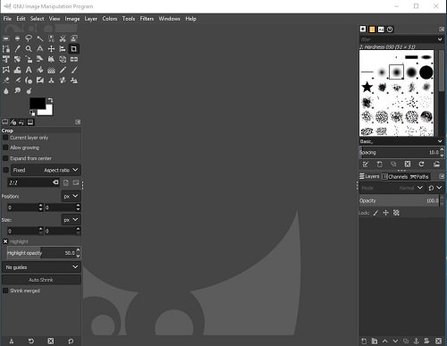 Gimp Software View