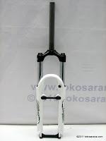 Fork RST GILA PRO 26 28,6 T80 White