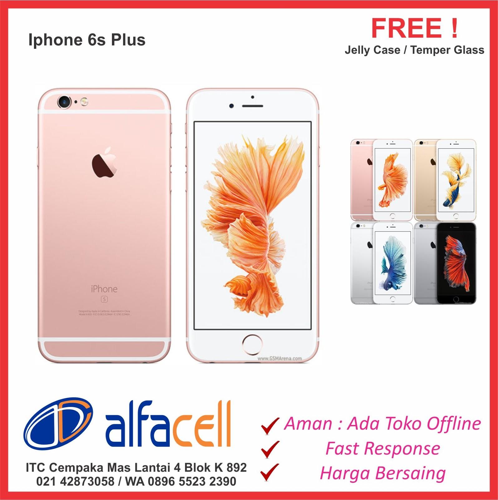 Iphone 6s 6s Plus + Murah ITC Cempaka Mas. Bisa Kredit Tanpa Kartu Kredit    Cash. Bisa COD Kirim dan bayar ditempat. 41ecb05931