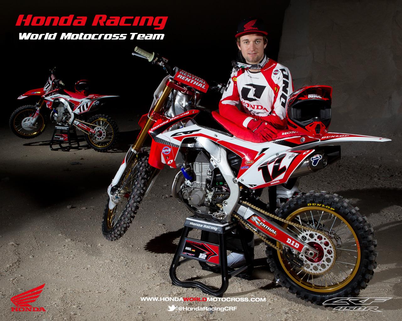 Racing Cafè: Honda CRF 450R World Motocross Team 2013