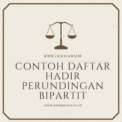 Document Bipartit (Daftar Hadir)