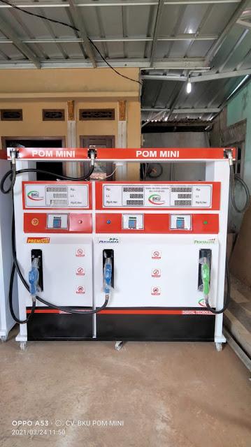 Harga Pom Mini Digital 3 Nozzle Isi 600 Liter