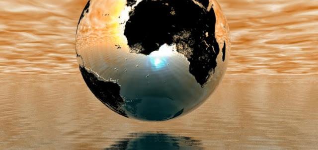 Земной шарик закончился, кризис начался