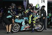 Rossi di Grand Prix Doha Qatar masih Dihantui masalah Daya Cengkeram Ban Belakang