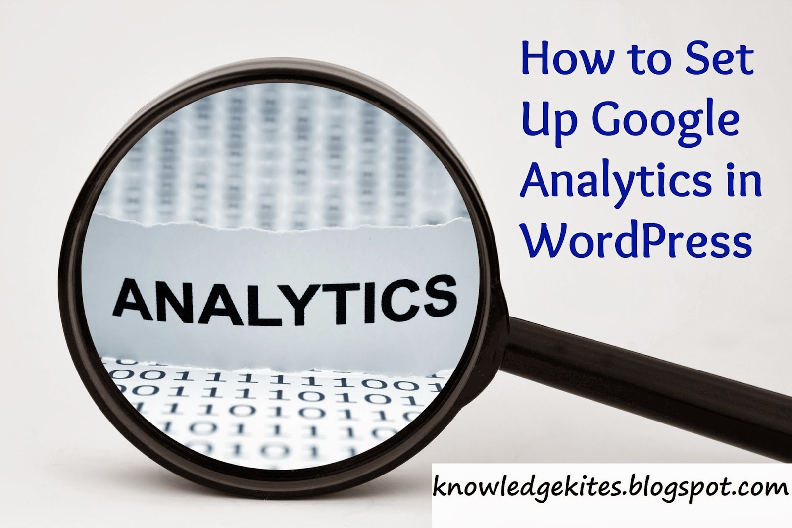 Google analytics install in wordpress without plugins