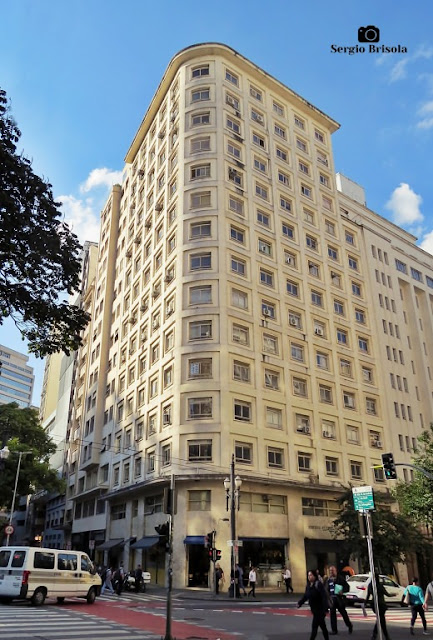 Vista ampla do Edifício Santo Ermelino - Centro - São Paulo