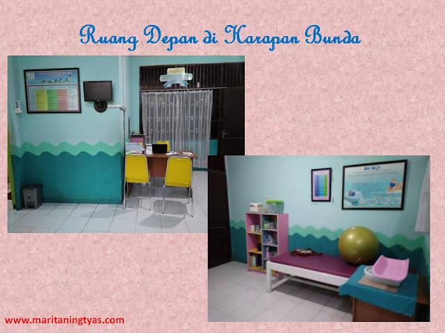 Ruang Depan Harapan Bunda Baby Spa Semarang