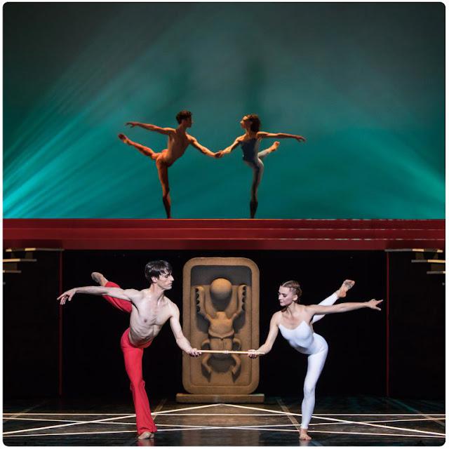 Béjart Ballet Lausanne dans La flûte enchantée