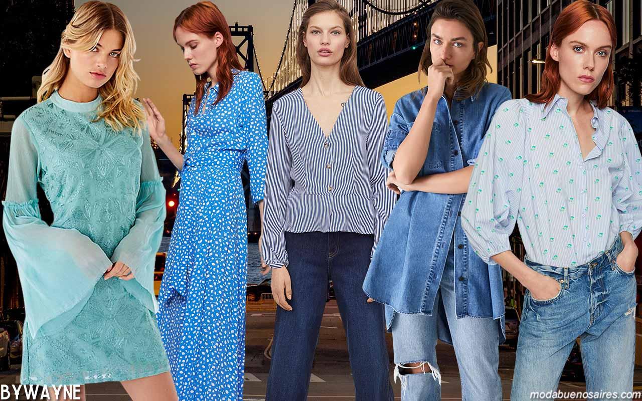 Moda primavera verano 2020: colores de moda 2020.