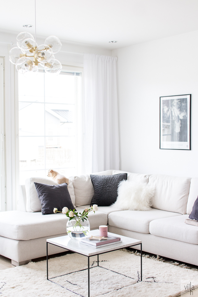 pholc tage, moderni kattokruunu, interior, olohuone