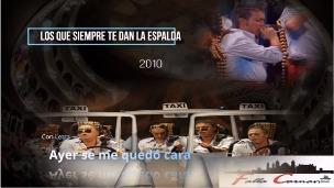 """Pasodoble con Letra """"Ayer se me quedó"""". Chirigota """"Los que siempre te dan la espalda"""" (2010)"""