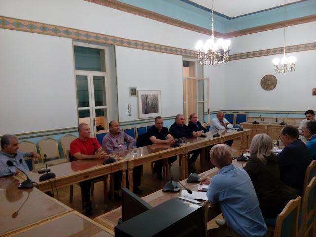 Συνάντηση των Προέδρων ΚΤΕΛ Α.Ε. Πελοποννήσου με τον Περιφερειάρχη Π. Νίκα.