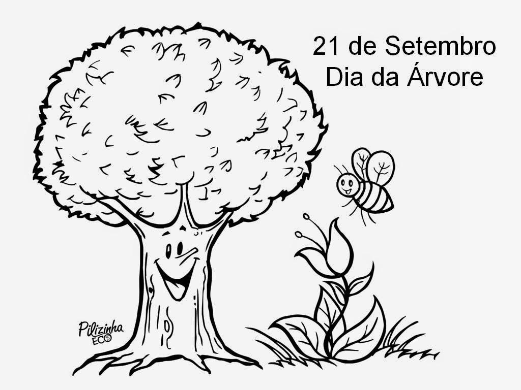 Atividade Para Imprimir: Dia Da árvore: Atividades De