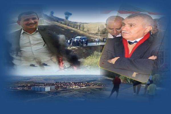 تقرير الوالي على طاولة الوزارة بخصوص الإنسداد ببلدية الظهرة