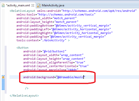 How to Use Image as a Button in Android