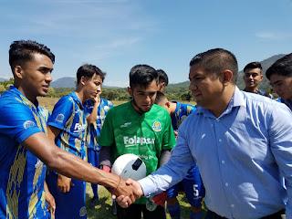 Paco Cedillo realiza intensa gira de trabajo por Uruapan en apoyo al deporte