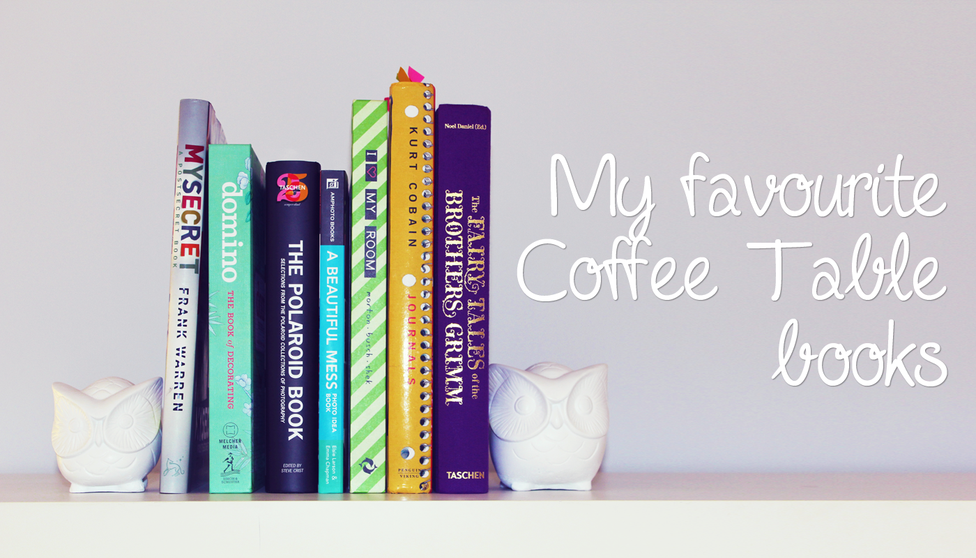 Inspirational Coffee Table Books.Being Erin My Top 5 Coffee Table Books