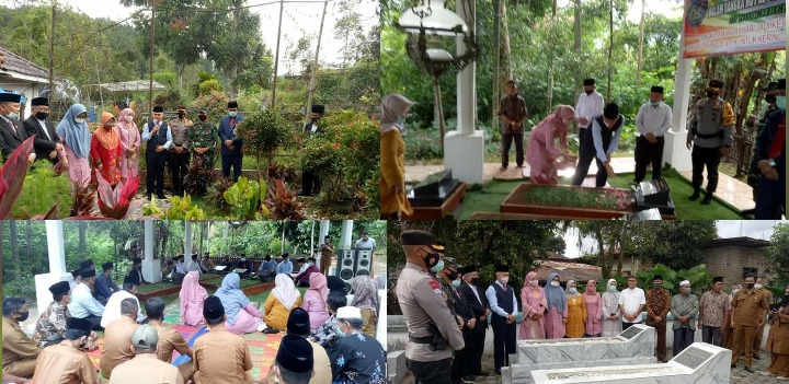 Bupati Adirozal Ziarah Ke Makam Mantan Bupati dan Pahlawan Kerinci