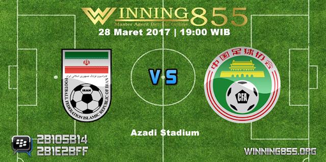 Prediksi Skor Iran vs China 28 Maret 2017