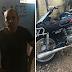 MAL PRESO!! Policía atrapó supuesto ladrón de motocicleta en Santiago