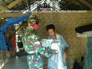 Ramadhan 2020, Dandim 1607/Sumbawa Gagas Jumat Berbagi