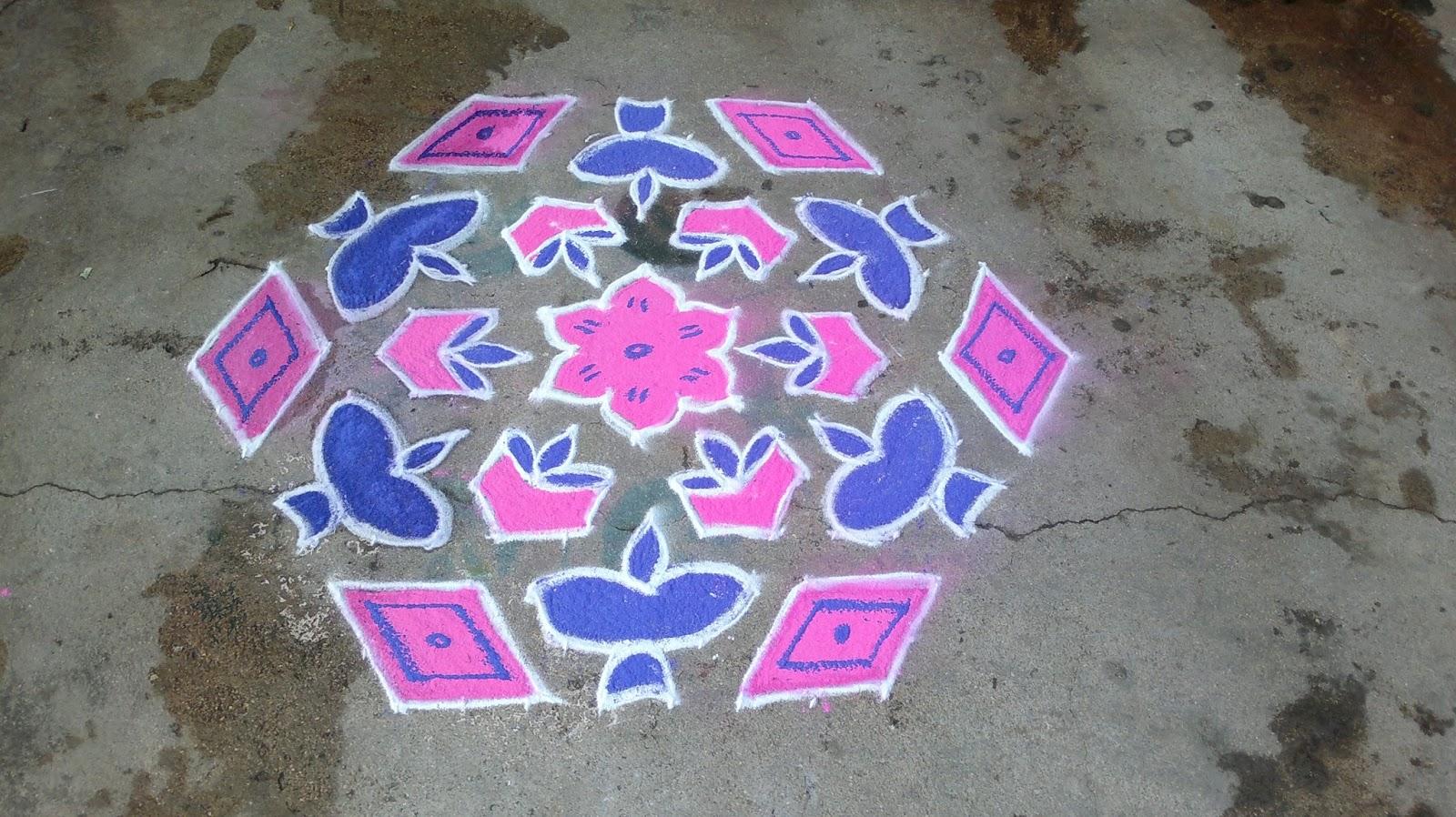 Chukki Rangoli