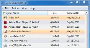 تحميل برنامج GeekUninstaller لحذف البرامج من الكمبيوتر نهائيا