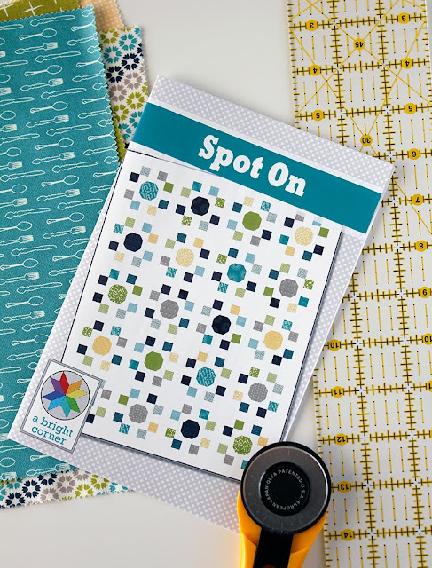 Spot On quilt pattern from A Bright Corner