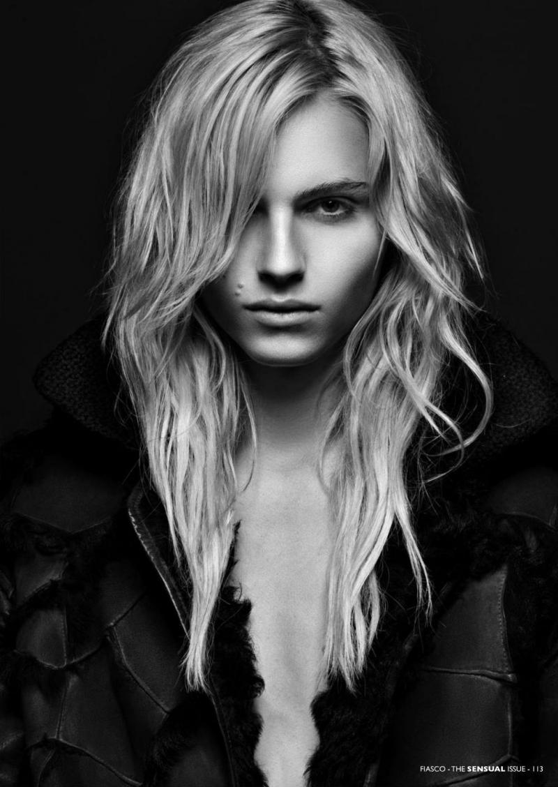 Man Or Woman? Androgynous Model Poses As Both To Challenge Gender Stereotypes