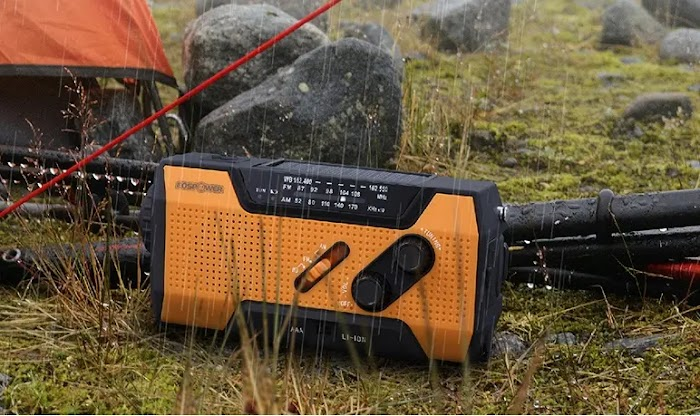 FosPower Emergency Solar Crank Portable Radio review
