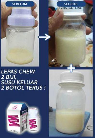 mamom milk booster selamat