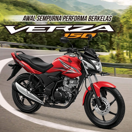 Honda Verza CW Bold Black
