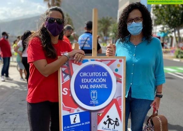 El programa de Movilidad Sostenible y Prevención de Accidentes de Tráfico ya ha recorrido 6 municipios de La Palma