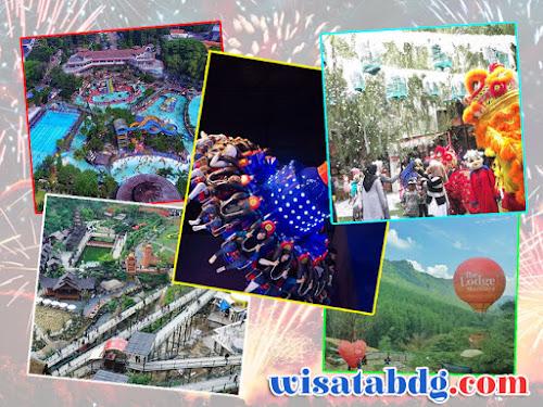 Promo tempat wisata Bandung Tahun Baru