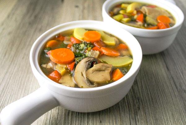 kale vegetable soup