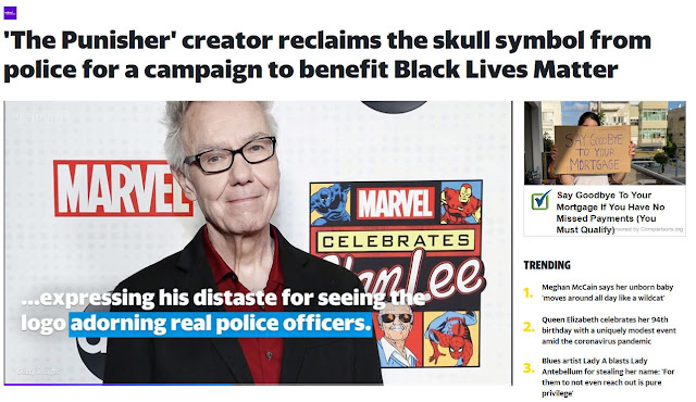 https://www.yahoo.com/entertainment/the-punisher-creator-reclaims-skull-symbol-police-campaign-benefitting-black-lives-matter-170211829.html