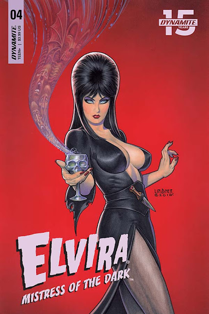 "RESEÑA EN INGLÉS/ESPAÑOL DE ""ELVIRA MISTRESS OF THE DARK #4"""