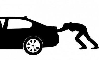 menghitung daya mendorong mobil