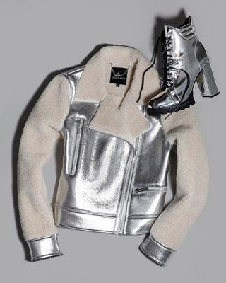 Jaqueta e botas Le Lis Blanc