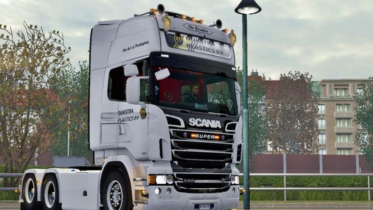 Scania RJL Dijkstra Plastics BV The Bomber Skin
