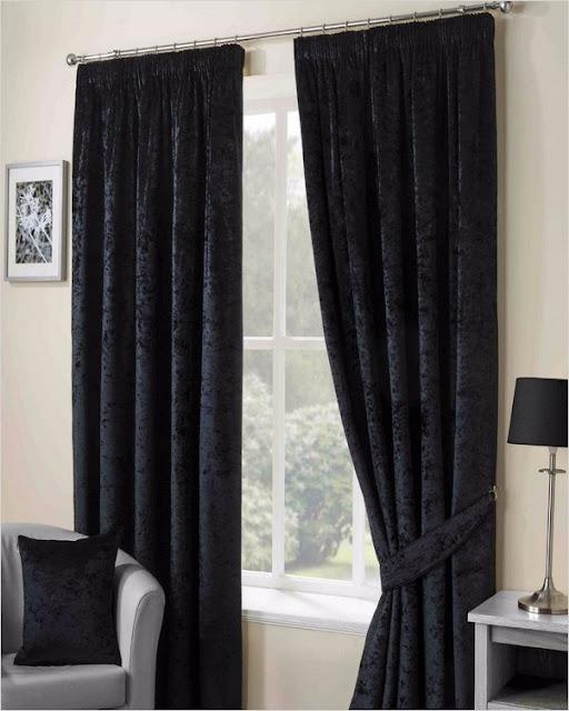 black crushed velvet curtains the range dunelm