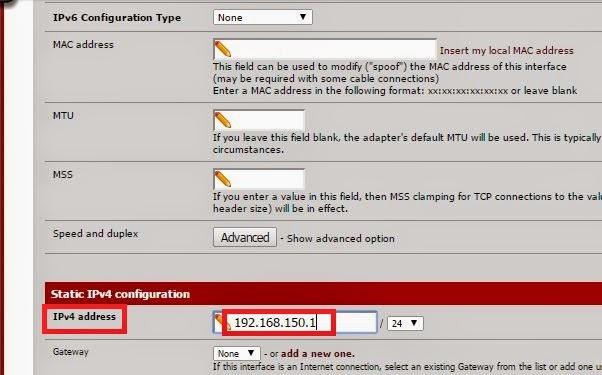 Configuración de cortafuegos con PFsense con VirtualBox