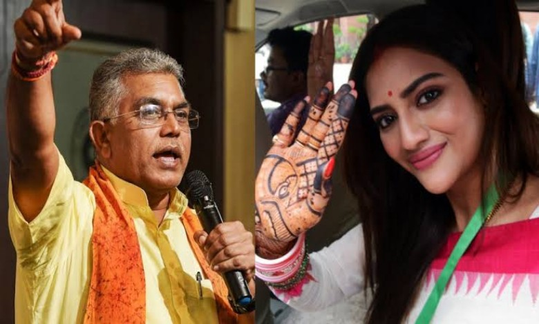 To fool the Hindus, Nusrat took vote after vermilion on the head!  claim Dilip Ghosh