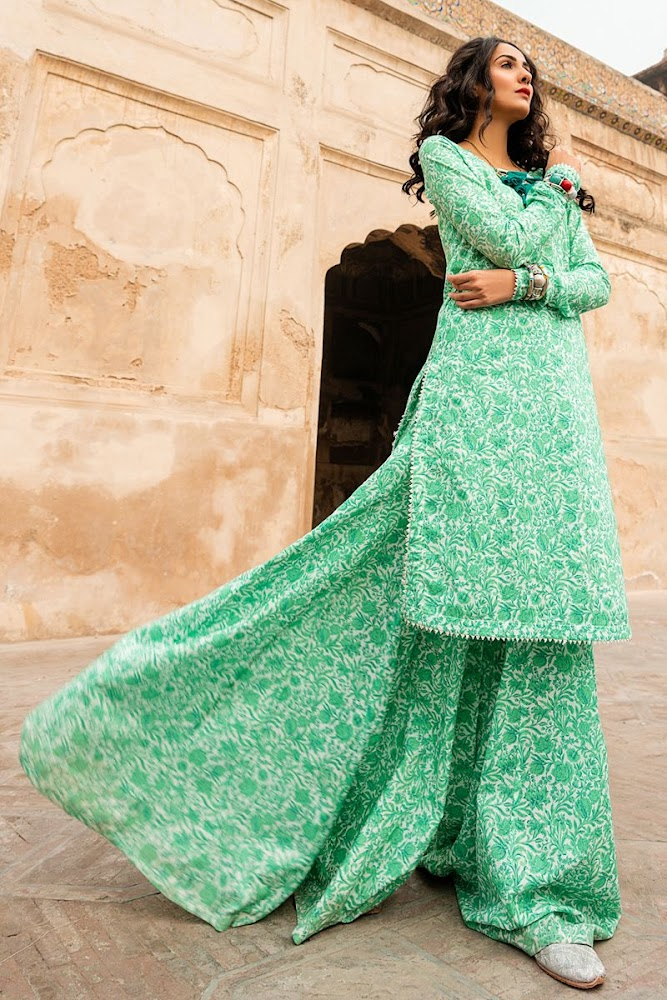 Gul Ahmed Vintage Garden collection