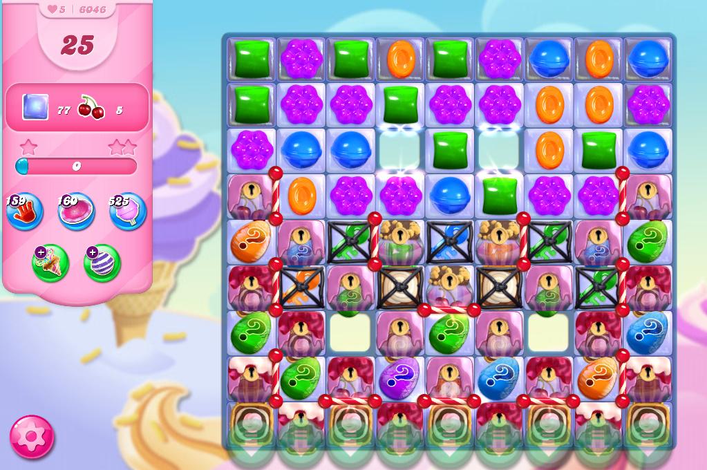 Candy Crush Saga level 6046