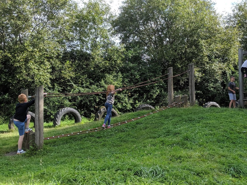 Play area at Guisborough Forest